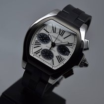 Cartier Roadster Large Automatic Chronograph FULL SET OPEN DATE
