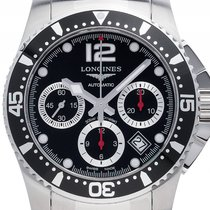Longines Hydro Conquest Stahl Automatik Chronograph Armband...