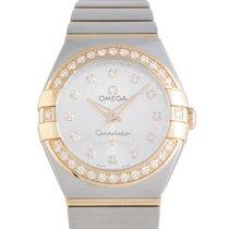 Omega Constellation Quartz 24mm Watch 123.25.24.60.52.001
