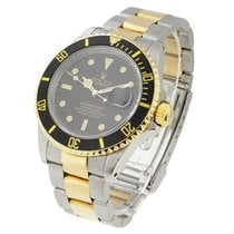 Rolex Used 16613_used Rolex Sumbariner with Hole Case - 2-Tone...