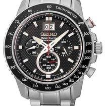 Seiko Sportura Herren Chronograph mit Großdatum SPC137P1