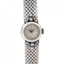 Longines Lady white gold diamonds