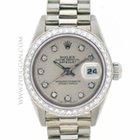 Rolex 18k white gold lady President