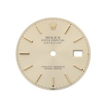 Rolex Mens 2 Tone Oyster Perpertual Date With Gold Face And...
