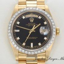 Rolex Day Date Gelbgold 750 Diamanten Automatik Brillanten...