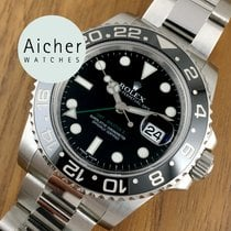 Rolex New Oyster Perpetual  GMT II Black Ceramic Bezel