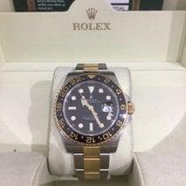 Rolex GMT-Master II Steel and gold Ceramic 116713LN, B+P 2009