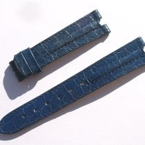 Zenith Croco Band Strap Blue 17 Mm 65/103 New Z17-03