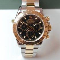 Rolex Daytona Stahl Gold Rehaut