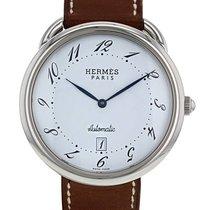 Hermès Arceau en acier Ref : AR4.810 Vers 2000