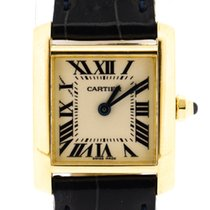 Cartier Tank Francaise  Lady small yellow gold