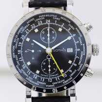 Sothis World Time Chronograph 2 GMT black dial limited Edition...