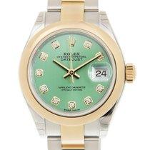 勞力士 (Rolex) Lady Datejust Gold And Steel Green Automatic...