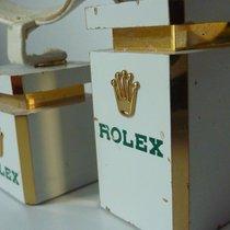 Rolex vintage Messing Rolex Uhrenständer Uhrenaufsteller 3 Stück