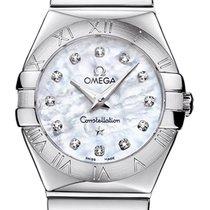 Omega Constellation Polished 27mm 123.10.27.60.55.002