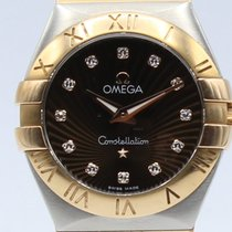 Omega Constellation Quartz Steel and 18K Gold Lady 12320276063001