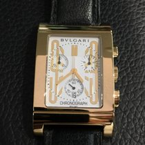宝格丽 (Bulgari) Rettangolo yellow gold RTC 49 G chronograph