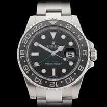 Rolex GMT-Master II Ceramic Stainless Steel Gents 116710LN -...