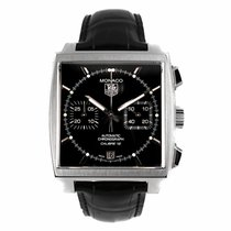 TAG Heuer Monaco Calibre 12 Automatic Chronograph Watch...