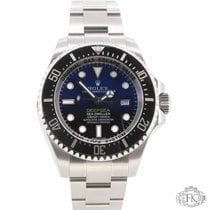 Rolex Sea-Dweller Deepsea | James Cameron Deep Blue Dial | D-Blue