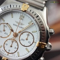 Breitling Callisto 36mm White Indexes Bracelet Manual Lemania...