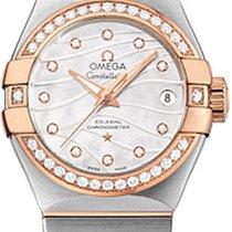 Omega Constellation Diamond Dial & Bezel Ladies Watch...