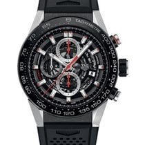 TAG Heuer Carrera Calibre 01 Automatic Skeleton Dial CAR2A1Z.F...