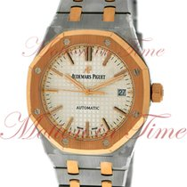 Audemars Piguet Royal Oak Automatic Ladies 37mm, Silver Dial -...