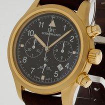 IWC Fliegerchronograph Quarz 750 Gelbgold Ref. 3741