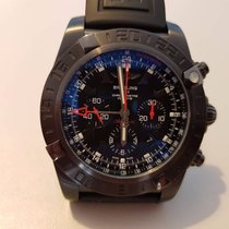 Breitling Chronomat GMT Black Steel Limited Edition MB0413