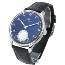 IWC IW545404 Portuguese Hand-Wound - Stainless Steel On Strap...