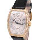 Franck Muller 18K Gold 5850 Crazy Hour, Custom Diamond, with...