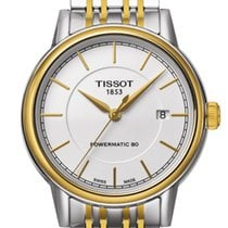 Tissot Carson Automatic Gent White Dial 40mm T