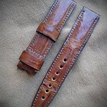 HANDMADE NEW - Strap - Crocodile leather  20/18 mm