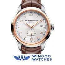 Baume & Mercier Clifton Two-Tone Leather Watch Ref. M0A10139
