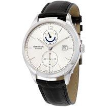 Montblanc Heritage Chronometrie Dual Time Silver Dial Automati...