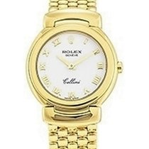 Rolex Unworn 6621/8 Cellini Ladys Quartz 6621/8 - Yellow Gold...