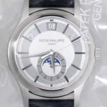 Patek Philippe Annual Calendar Mens 5205G 18K Gold B&P New