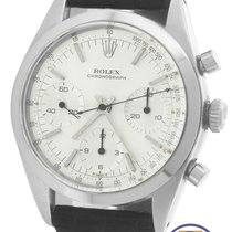 Rolex 6238 Pre-Daytona Chronograph Stainless Silver 36mm Watch
