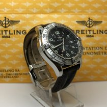 Breitling SUPEROCEAN A17360 BLACK DIAL GENTS AUTOMATIC WATCH