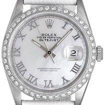 Rolex Datejust Stainless Steel Ladies Watch 16200