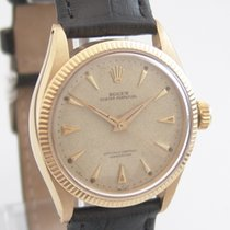 """Rolex Oyster Perpetual """"Honeycomb"""" 750 Gold"""