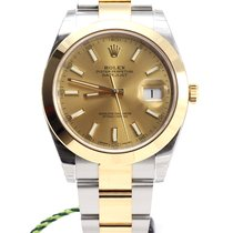 Rolex Oyster Perpetual Datejust 41 champagne gold/steel NEW MODEL