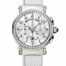 Breguet Marine Lady Chronograph 18kt White Gold 8828BB/5D/586/...
