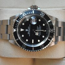 Rolex [NEVER POLISHED,  B+P] Submariner Date 16610 Tritium