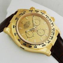 Rolex Cosmograph Daytona Yellow Gold 116518 Champagne Dial