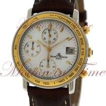 Baume & Mercier Baumatic Chronograph, White Enamel Dial,...
