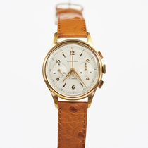 Men's 1970's French Wakmann 2 Register Chronograph