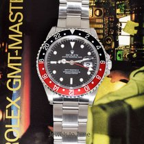 "Rolex Mens GMT-MASTER II Steel Mens ""Coke"" Watch Box/Papers T..."