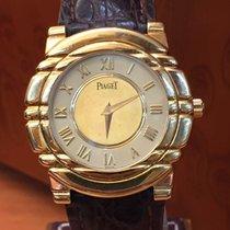 Piaget Tanagra Mecanique. 18 kt gold. Men's watch. Wound. 1980s.